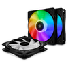 A product image of DeepCool CF120 Plus A-RGB 120mm Fans - 3 Pack