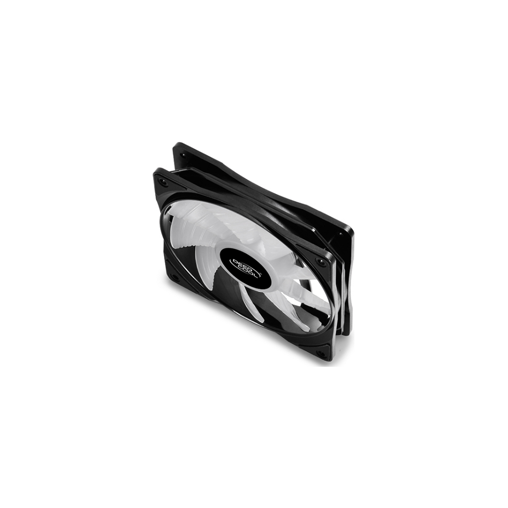 A large main feature product image of DeepCool CF120 Plus A-RGB 120mm Fans - 3 Pack