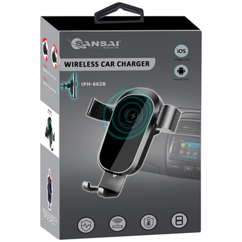 Product image of Sansai Car Wireless Phone Charger - Click for product page of Sansai Car Wireless Phone Charger