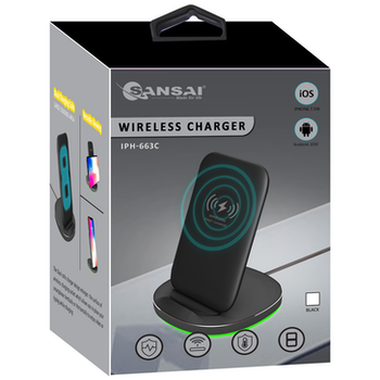 Product image of Sansai Wireless Charging Stand - Click for product page of Sansai Wireless Charging Stand