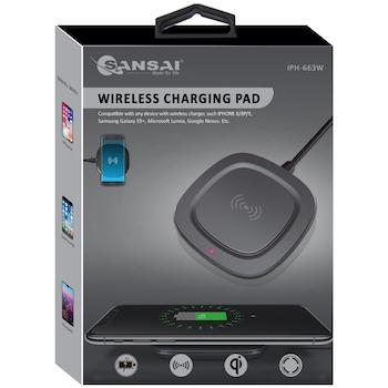 Product image of Sansai Wireless Charging Pad - Click for product page of Sansai Wireless Charging Pad