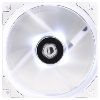 Product image of ID-COOLING XF Series 120mm White LED Fan - Click for product page of ID-COOLING XF Series 120mm White LED Fan