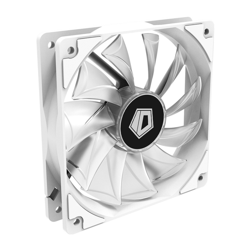 A large main feature product image of ID-COOLING XF Series 120mm White LED Fan
