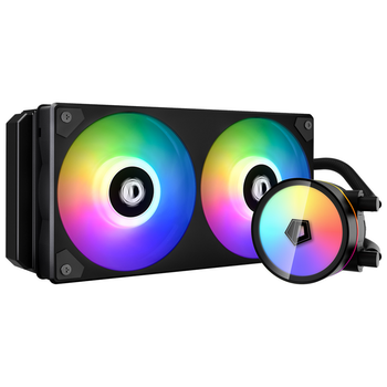 Product image of ID-COOLING IceFlow 240 Addressable RGB AIO CPU Liquid Cooler - Click for product page of ID-COOLING IceFlow 240 Addressable RGB AIO CPU Liquid Cooler