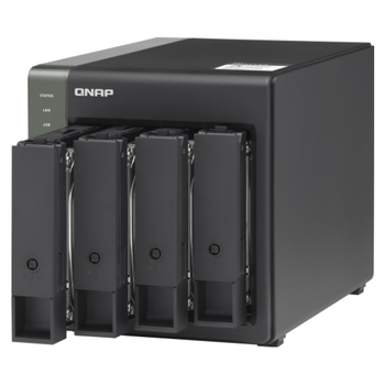 Product image of QNAP TS-431X3 1.7Ghz 4GB 4 Bay NAS Enclosure - Click for product page of QNAP TS-431X3 1.7Ghz 4GB 4 Bay NAS Enclosure