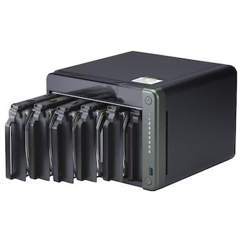 Product image of QNAP TS-653D 2.0Ghz 8GB 6 Bay NAS Enclosure - Click for product page of QNAP TS-653D 2.0Ghz 8GB 6 Bay NAS Enclosure