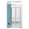 A product image of QNAP TS-231P3 1.7Ghz 2GB 2 Bay NAS Enclosure