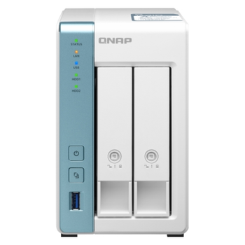 Product image of QNAP TS-231P3 1.7Ghz 2GB 2 Bay NAS Enclosure - Click for product page of QNAP TS-231P3 1.7Ghz 2GB 2 Bay NAS Enclosure