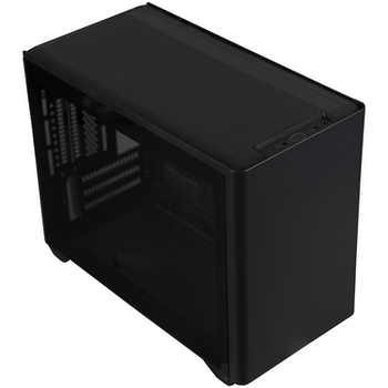 Product image of Cooler Master NR200P Black mITX Case w/ Tempered Glass Side Panel - Click for product page of Cooler Master NR200P Black mITX Case w/ Tempered Glass Side Panel