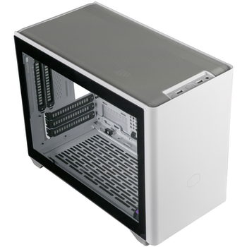 Product image of Cooler Master NR200P White mITX Case w/ Tempered Glass Side Panel - Click for product page of Cooler Master NR200P White mITX Case w/ Tempered Glass Side Panel