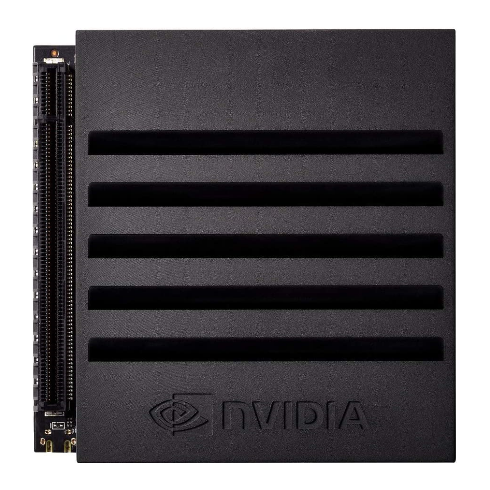 A large main feature product image of NVIDIA Jetson AGX Xavier Developer Kit