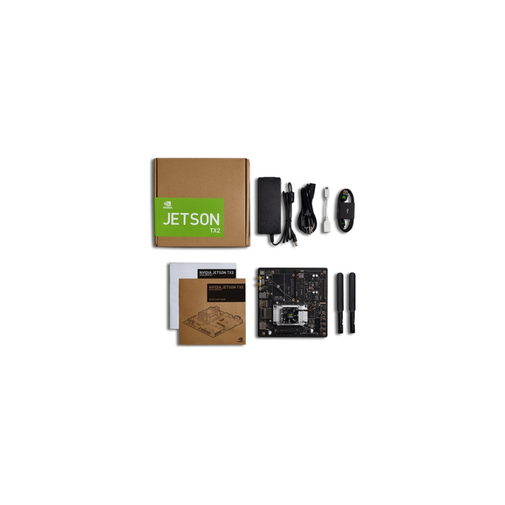 A large main feature product image of NVIDIA Jetson TX2 Tegra Developer Kit