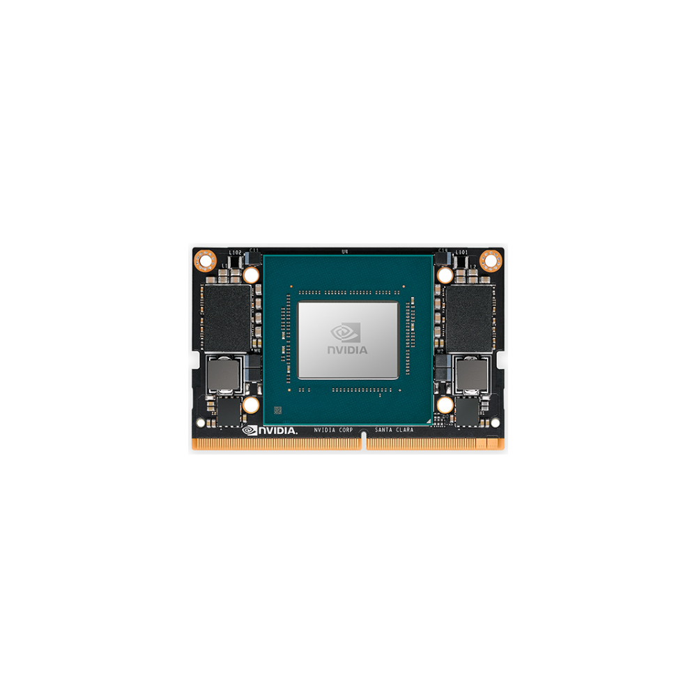 A large main feature product image of NVIDIA Jetson Xavier NX Module