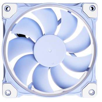 Product image of ID-COOLING Pastel Series ZF-12025 Baby Blue PWM 120mm White LED Fan - Click for product page of ID-COOLING Pastel Series ZF-12025 Baby Blue PWM 120mm White LED Fan