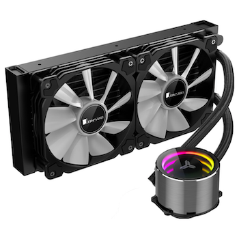 Product image of Jonsbo Shadow 240mm ARGB LED AIO CPU Liquid Cooler - Click for product page of Jonsbo Shadow 240mm ARGB LED AIO CPU Liquid Cooler