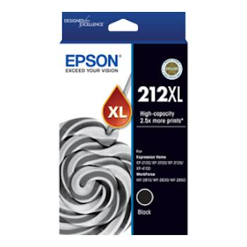 Product image of Epson 212XL Black Cartridge - Click for product page of Epson 212XL Black Cartridge