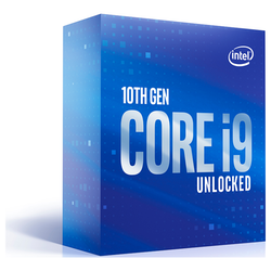 Product image of Intel Core i9 10850K 3.6Ghz Comet Lake 10 Core 20 Thread LGA1200 - No HSF Retail Box - Click for product page of Intel Core i9 10850K 3.6Ghz Comet Lake 10 Core 20 Thread LGA1200 - No HSF Retail Box
