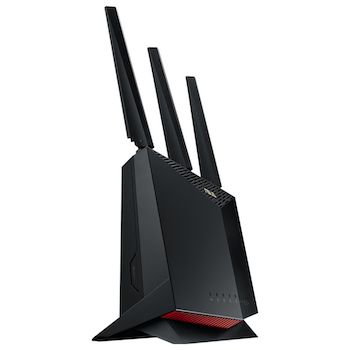 Product image of ASUS RT-AX86U 802.11ax Dual-Band AiMesh Wireless-AX5700 Gigabit Router - Click for product page of ASUS RT-AX86U 802.11ax Dual-Band AiMesh Wireless-AX5700 Gigabit Router