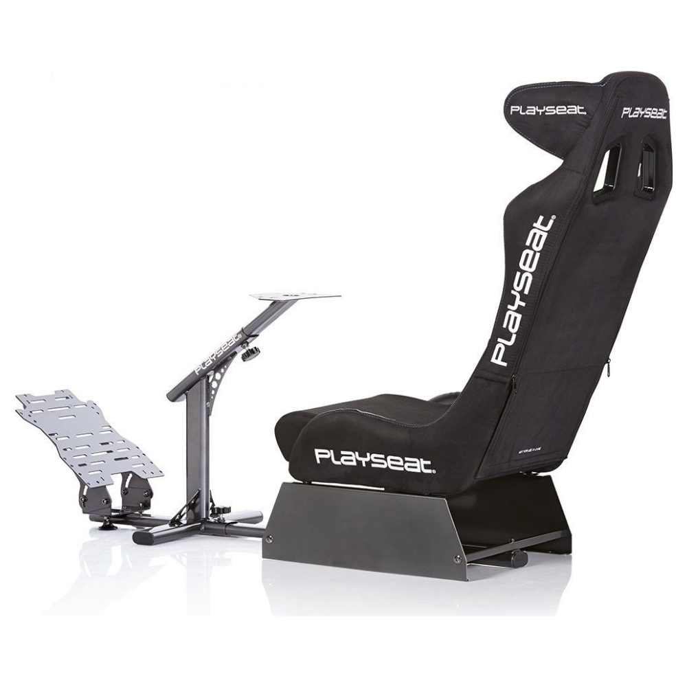A large main feature product image of Playseat Evolution Pro Driving Simulator - Alcantara