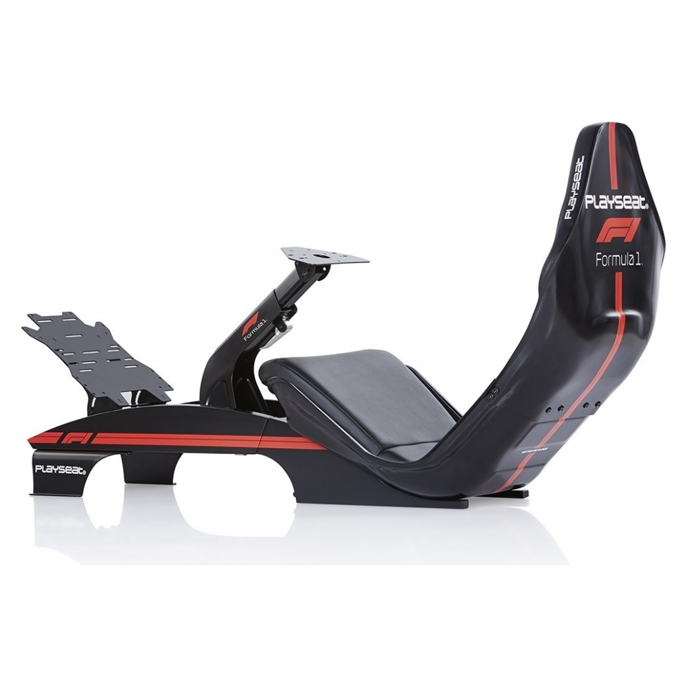 A large main feature product image of Playseat F1 Driving Simulator - Black