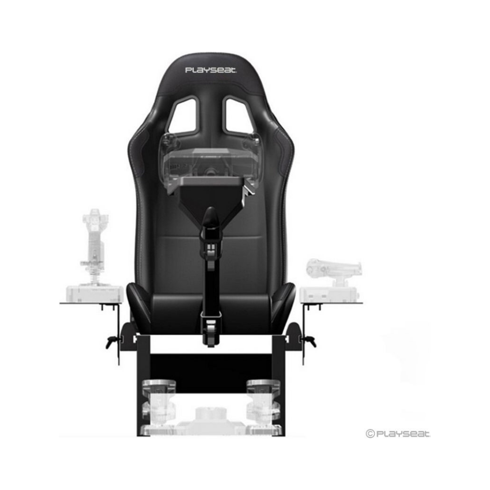 A large main feature product image of Playseat Air Force Pilot Simulator - Black