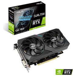 Product image of ASUS GeForce RTX2070 DUAL MINI OC 8GB GDDR6 - Click for product page of ASUS GeForce RTX2070 DUAL MINI OC 8GB GDDR6