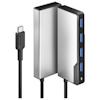A product image of ALOGIC  USB-C Fusion SWIFT 4-in-1 Hub