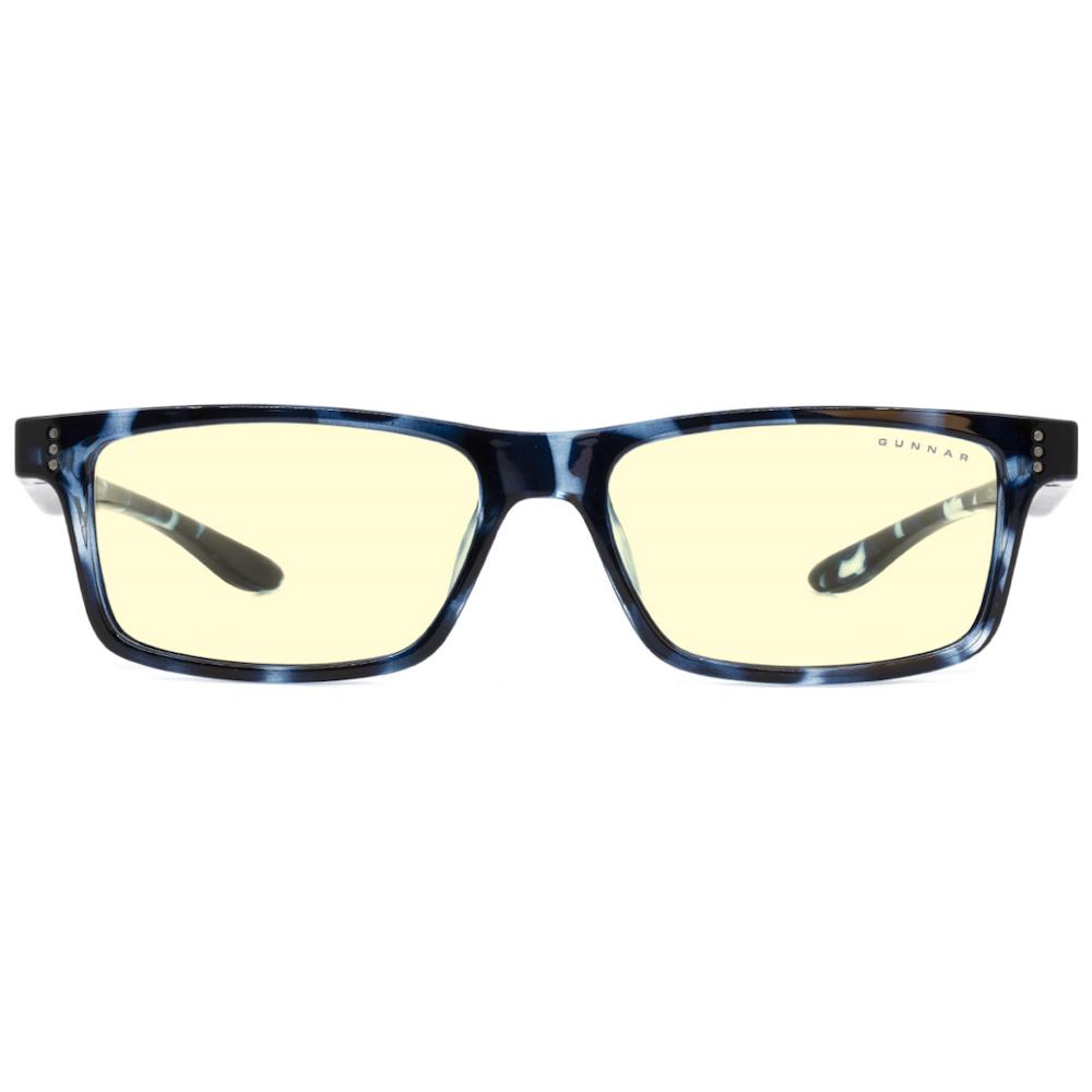 A large main feature product image of Gunnar Cruz Kids Amber Navy Tortoise Indoor Digital Eyewear Large