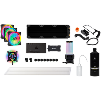 Product image of CORSAIR Hydro X Series iCUE XH305i RGB Custom Cooling Kit - Click for product page of CORSAIR Hydro X Series iCUE XH305i RGB Custom Cooling Kit