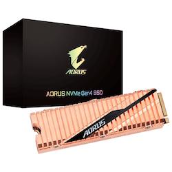 Product image of Gigabyte AORUS 1TB Gen 4 M.2 NVMe SSD - Click for product page of Gigabyte AORUS 1TB Gen 4 M.2 NVMe SSD