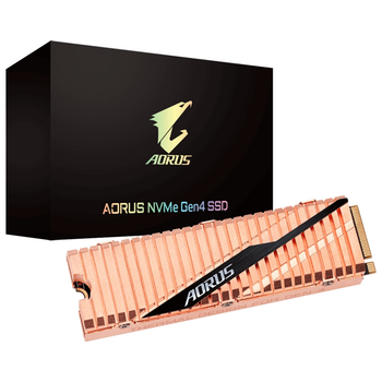 Product image of Gigabyte AORUS 1TB Gen 4 M.2 NVMe SSD - Click for product page of Gigabyte AORUS 1TB Gen 4 M.2 NVMe SSD