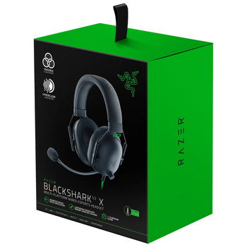 Product image of Razer BlackShark V2 X Wired Gaming Headset - Click for product page of Razer BlackShark V2 X Wired Gaming Headset