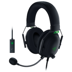 Product image of Razer BlackShark V2 Wired Gaming Headset w/ USB Sound Card - Click for product page of Razer BlackShark V2 Wired Gaming Headset w/ USB Sound Card