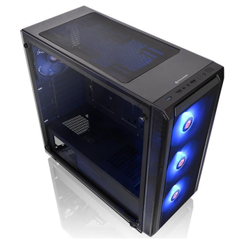 Product image of Thermaltake Versa J23 RGB Tempered Glass Edition Mid Tower Case - Click for product page of Thermaltake Versa J23 RGB Tempered Glass Edition Mid Tower Case