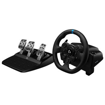 Product image of Logitech G923 TrueForce Racing Wheel & Pedals For PlayStation 5/4 - Click for product page of Logitech G923 TrueForce Racing Wheel & Pedals For PlayStation 5/4