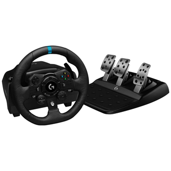Product image of Logitech G923 TrueForce Racing Wheel & Pedals For Xbox - Click for product page of Logitech G923 TrueForce Racing Wheel & Pedals For Xbox