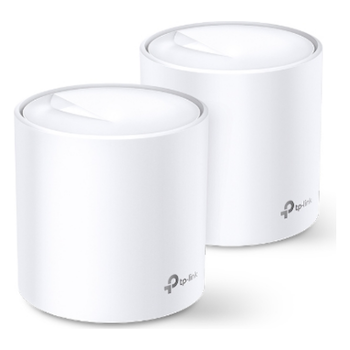 Product image of TP-LINK Deco X20 Wireless-AX1800 WiFi 6 Mesh System - 2 Pack - Click for product page of TP-LINK Deco X20 Wireless-AX1800 WiFi 6 Mesh System - 2 Pack