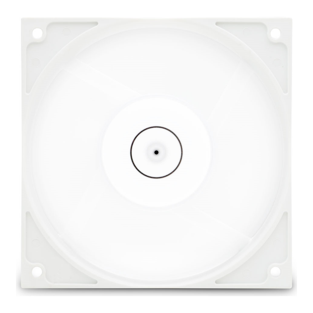 A large main feature product image of EK Vardar EVO 120ER D-RGB (500-2200 RPM) - White