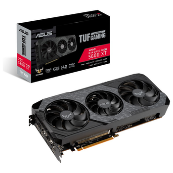 Product image of ASUS Radeon RX 5600 XT TUF Gaming X3 EVO TOP 6GB GDDR6 - Click for product page of ASUS Radeon RX 5600 XT TUF Gaming X3 EVO TOP 6GB GDDR6