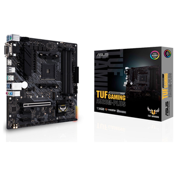 Product image of ASUS TUF Gaming A520M-PLUS AM4 mATX Desktop Motherboard - Click for product page of ASUS TUF Gaming A520M-PLUS AM4 mATX Desktop Motherboard