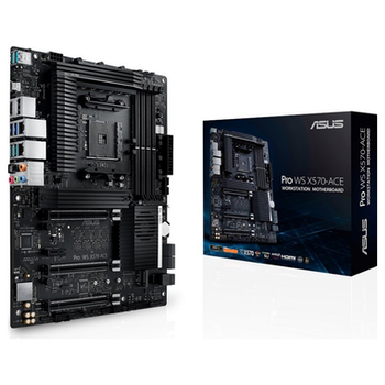 Product image of ASUS Pro WS X570-ACE AM4 ATX Desktop Motherboard - Click for product page of ASUS Pro WS X570-ACE AM4 ATX Desktop Motherboard