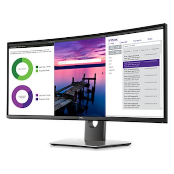 "Product image of Dell Ultrasharp U3419W 34"" UWQHD 8MS IPS LED Monitor - Click for product page of Dell Ultrasharp U3419W 34"" UWQHD 8MS IPS LED Monitor"