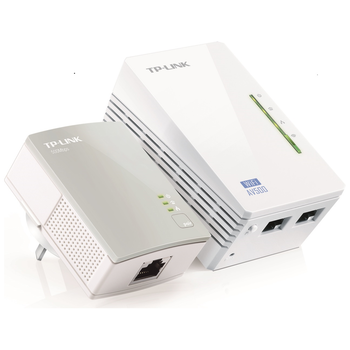 Product image of EX-DEMO TP-LINK AV600 WiFi Powerline Extender Starter Kit - Click for product page of EX-DEMO TP-LINK AV600 WiFi Powerline Extender Starter Kit