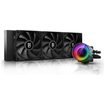 Product image of DeepCool Castle 360EX RGB AIO Liquid Cooler - Click for product page of DeepCool Castle 360EX RGB AIO Liquid Cooler