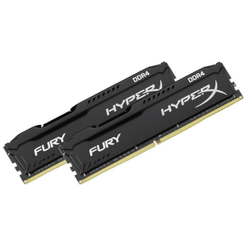 Product image of Kingston 16GB Kit (2x8GB) DDR4 HyperX Fury Black C16 2666MHz - Click for product page of Kingston 16GB Kit (2x8GB) DDR4 HyperX Fury Black C16 2666MHz