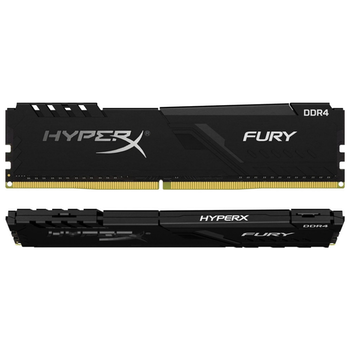 Product image of Kingston 16GB Kit (2x8GB) DDR4 HyperX Fury Black C17 3600MHz - Click for product page of Kingston 16GB Kit (2x8GB) DDR4 HyperX Fury Black C17 3600MHz