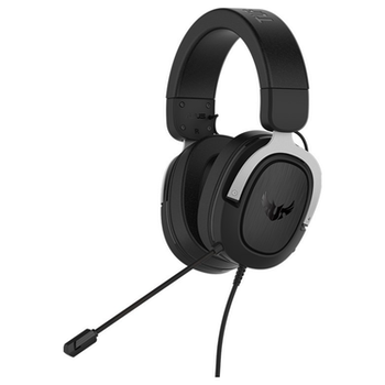 Product image of ASUS TUF H3 Gaming Headset - Silver  - Click for product page of ASUS TUF H3 Gaming Headset - Silver