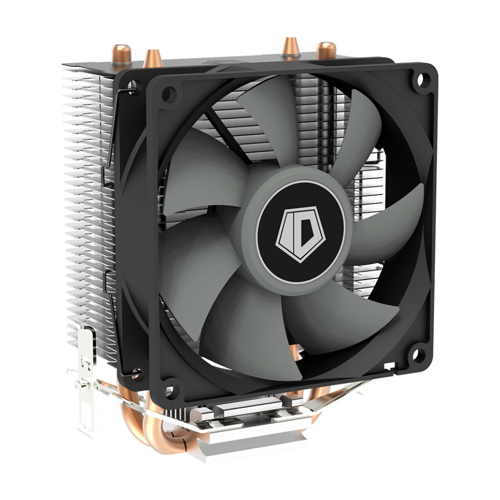 A large main feature product image of ID-COOLING Sweden Series SE-902SD CPU Cooler