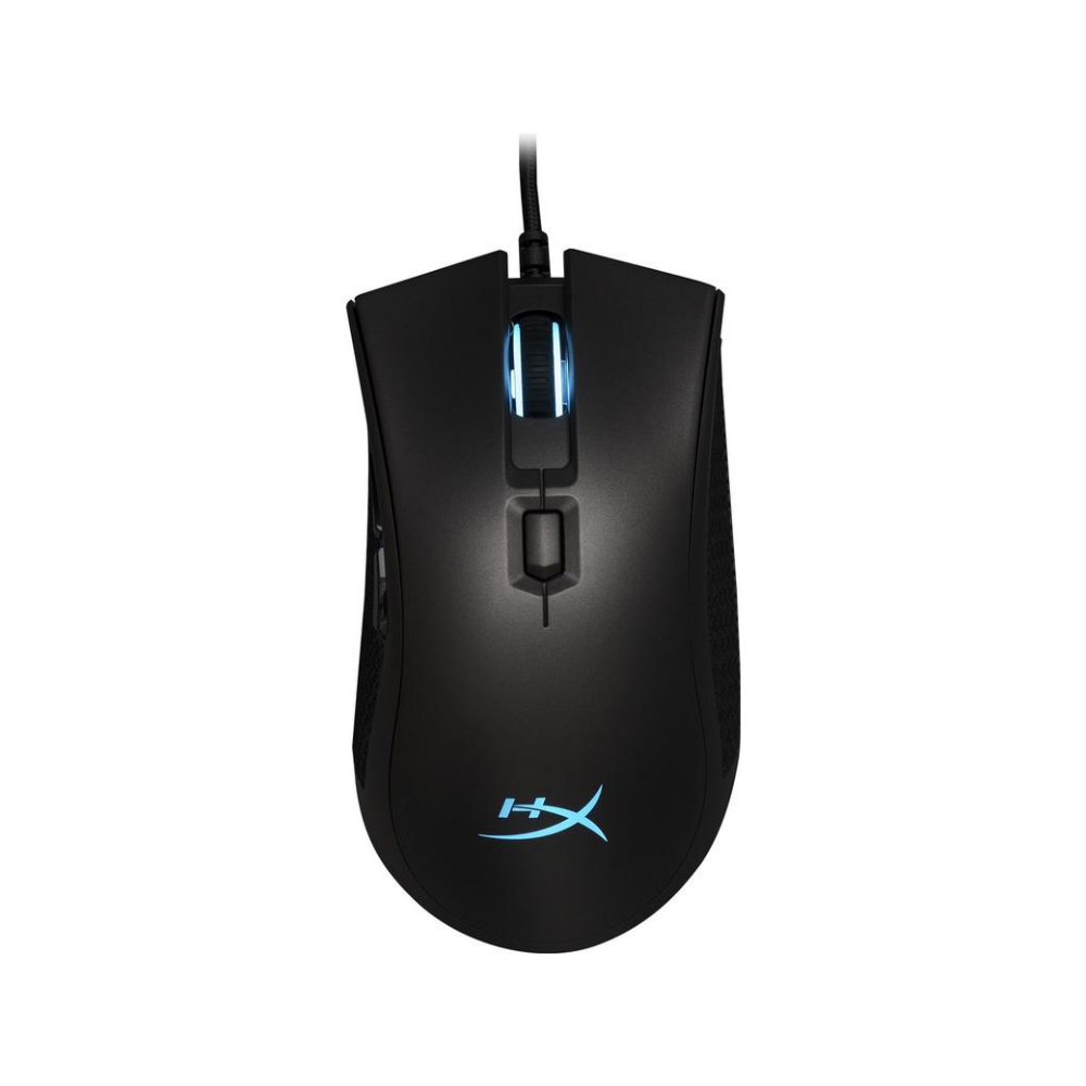 A large main feature product image of Kingston HyperX Pulsefire FPS Pro RGB Gaming Mouse