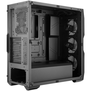 Product image of Cooler Master MasterBox TD500 RGB Mid Tower Case w/Diamond Cut Acrylic Side Panel - Click for product page of Cooler Master MasterBox TD500 RGB Mid Tower Case w/Diamond Cut Acrylic Side Panel